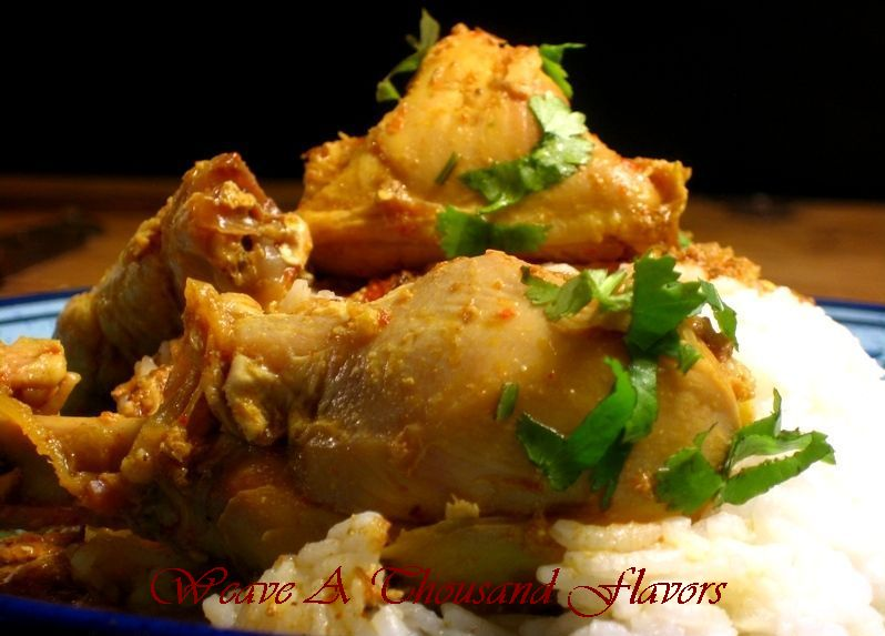 Mum's Rassavala Chicken - A classic Chicken stew from India flavored with cumin, yogurt & spices