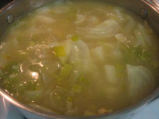 Simmer soup