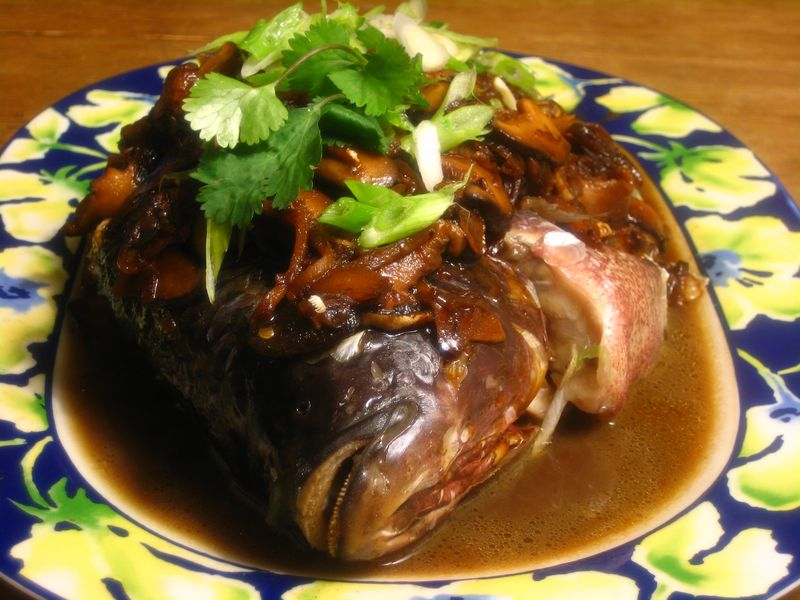 Auspicious Steamed Fish for Chinese New Year