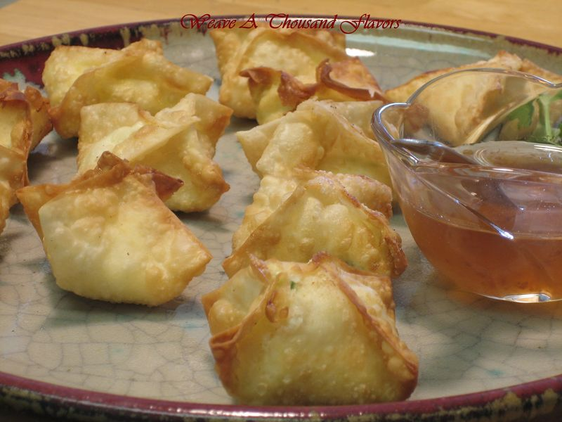 Pineapple rangoons