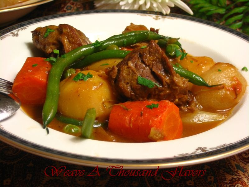 Navarin D'Agneau Printanier {Lamb Navarin with Spring Vegetables}