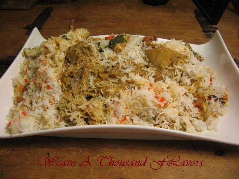 Dum Pukth Chicken Biryani
