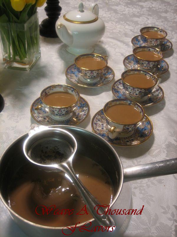 Homemade Asli Chai!