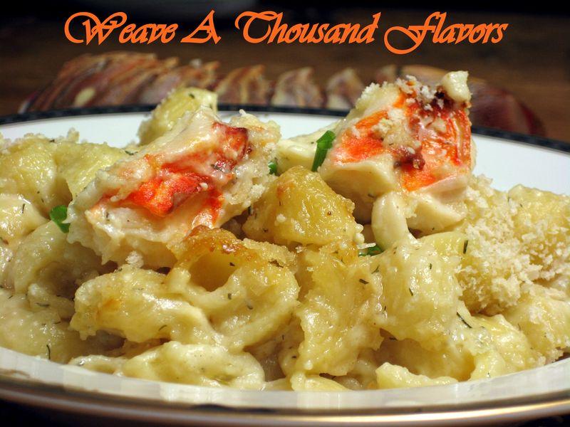 Lobster, Mascarpone & 4-Cheese - Mac & Cheese