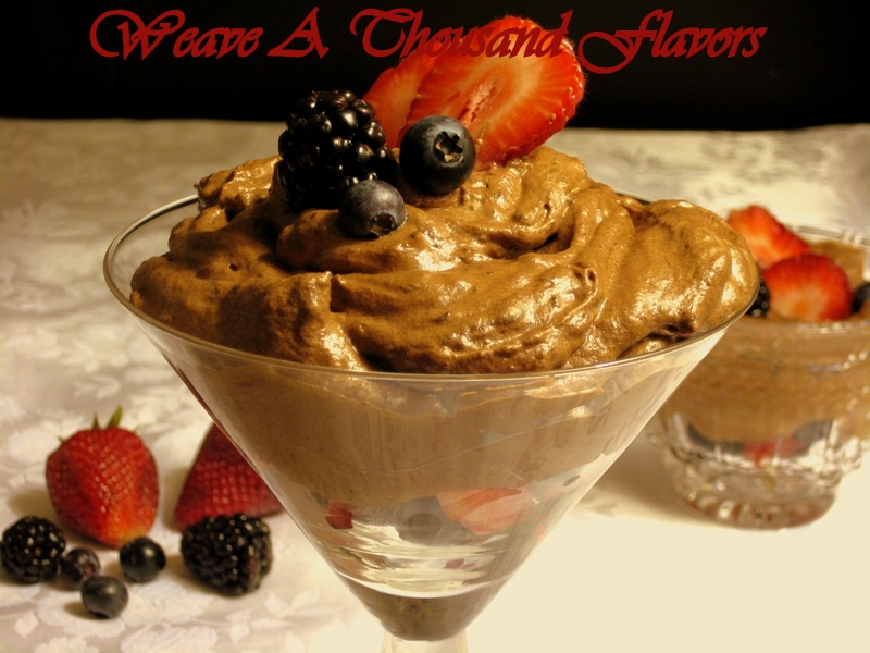 Sinful Berry & Chocolate Mousse Delights