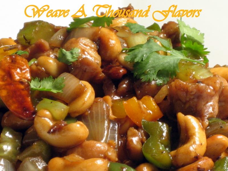 Asian style Stir-fry Cashew Chicken