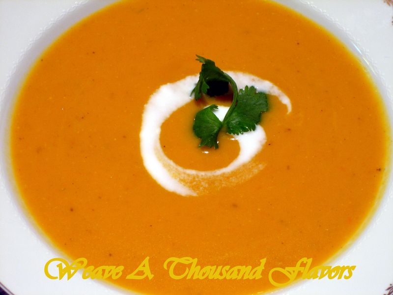Holiday Favorites : Curried Butternut Squash Soup