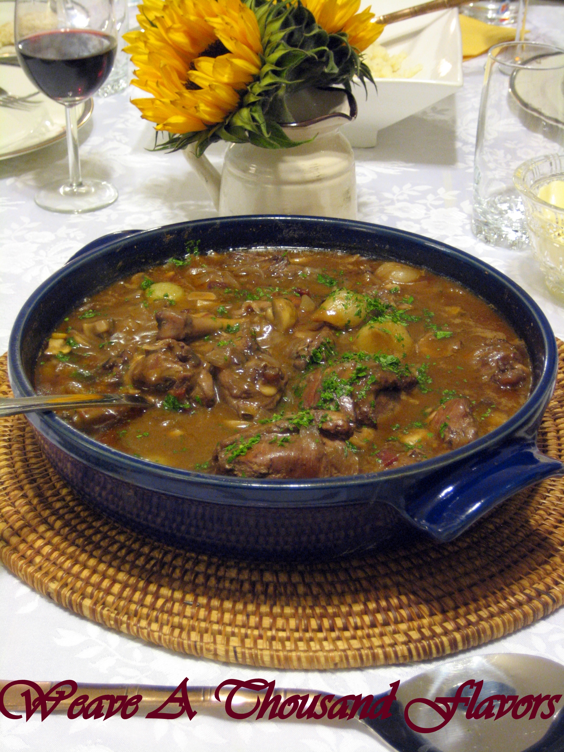 Perfect \'Coq Au Vin\' meets \'Emile Henry\' Brazier - A French Classic ...