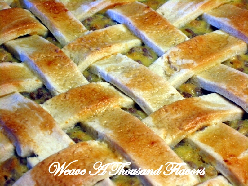 {La Pastiera di Grana} A Traditional Wholegrain Easter Ricotta Pie from Campania, Italy