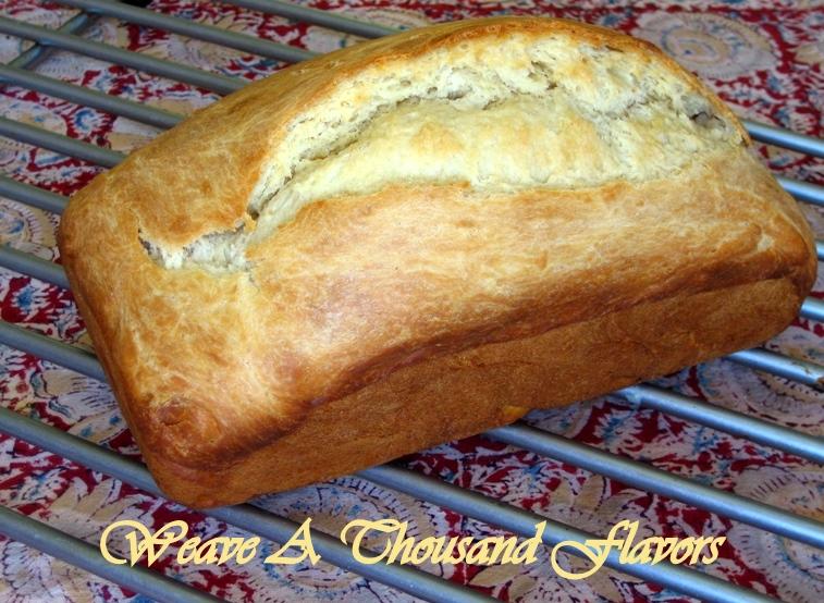 Loaf of Lemon Brioche