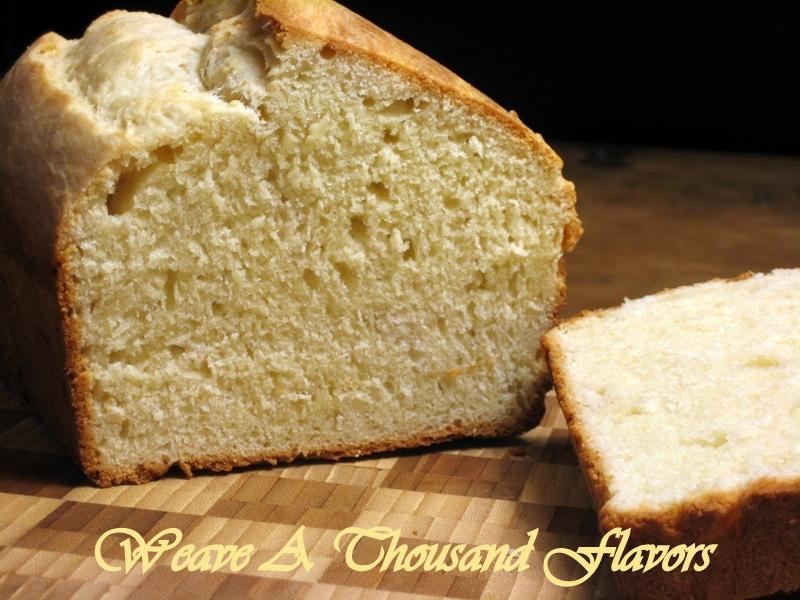 Loaf on lemon Brioche