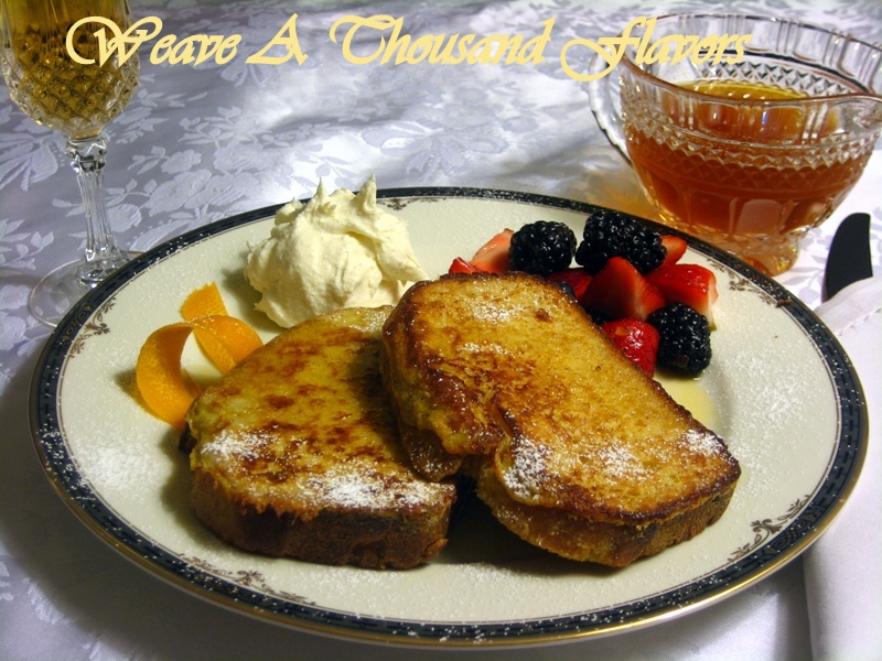 A Signature Lemon Brioche French Toast at T Cook's, Royal Palms Resort, Arizona