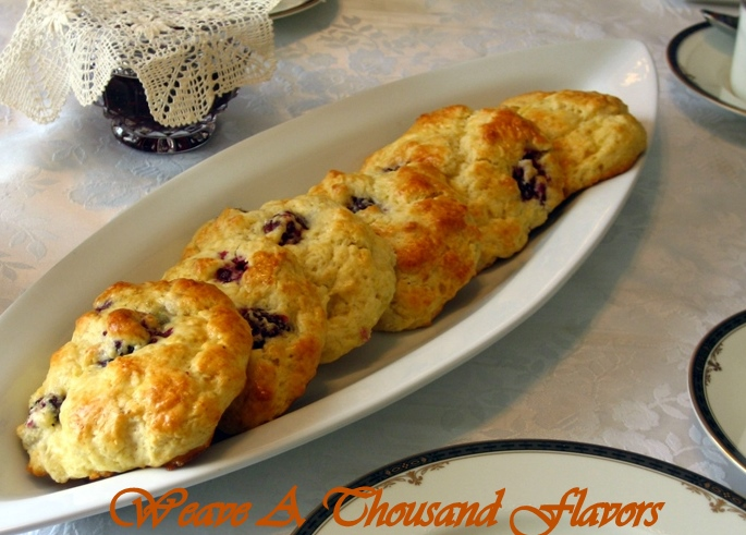 Perfect for Summer! Blackberry & Lemon Scones