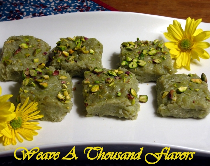 A Delicious Dessert with Calabash 