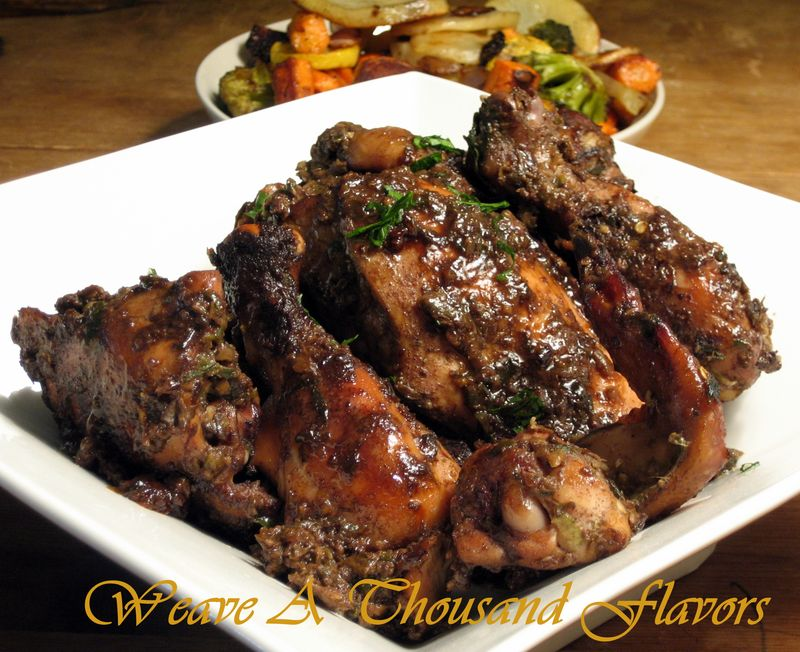 Mouthwatering Spicy Caribbean Jerk Chicken - Weave a Thousand Flavors