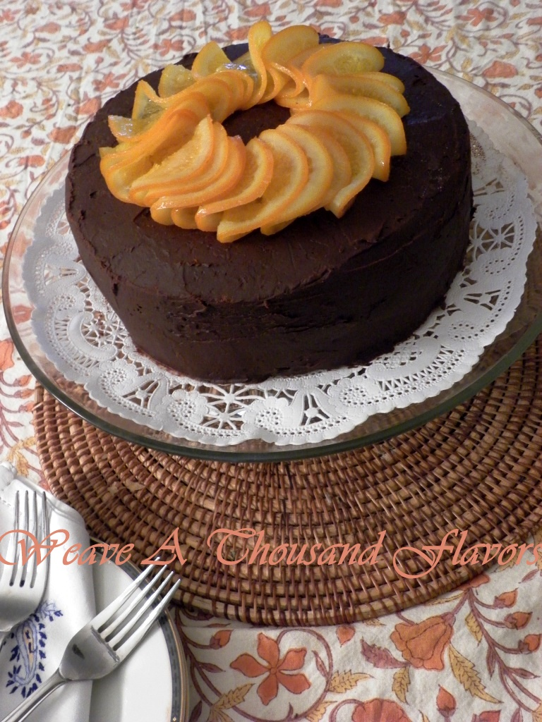 Copy of Orange Burst Chocolate Ganache Cake01