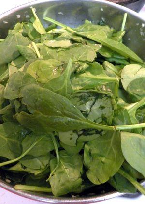 Erbazzone - Add spinach