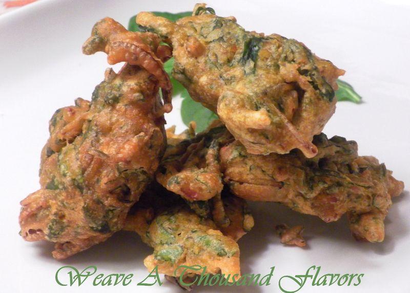 Spinach Pakoras 04