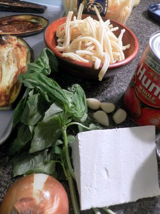 Pasta Alla Norma - Ingredients