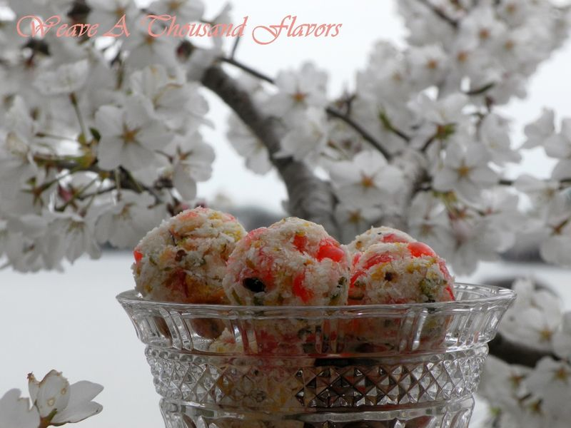 Cherry, Pistachio & Rose Water Macaroons-05