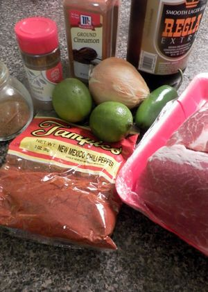 Beer Carnitas - Ingredients