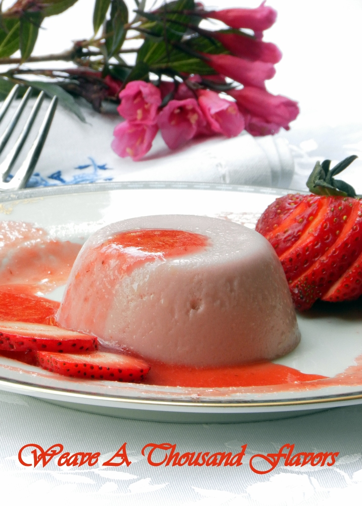 Gelatin-free Strawberry & Lemon Panna Cotta - 02