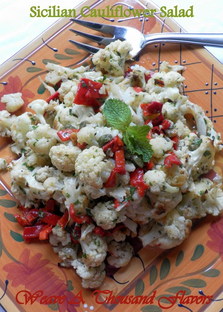 Sicilian cauliflower salad- 02