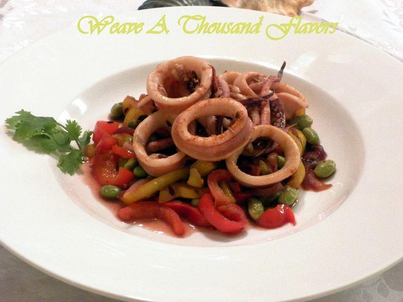 Warm Squid Salad - 01