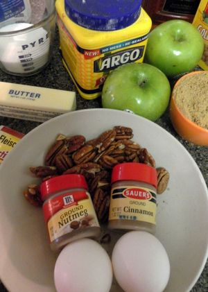 Autumnal apple bread - Ingredients