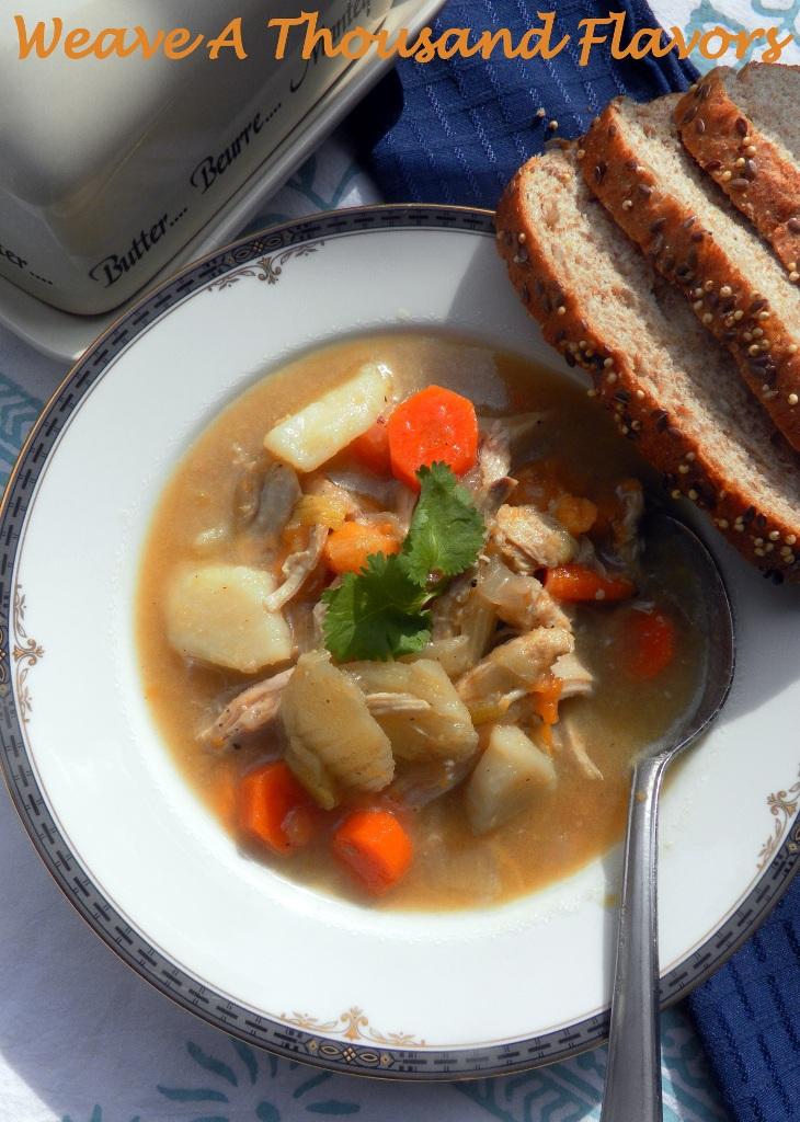Leftover Chicken, Fennel & Sweet Potato Soup - 01