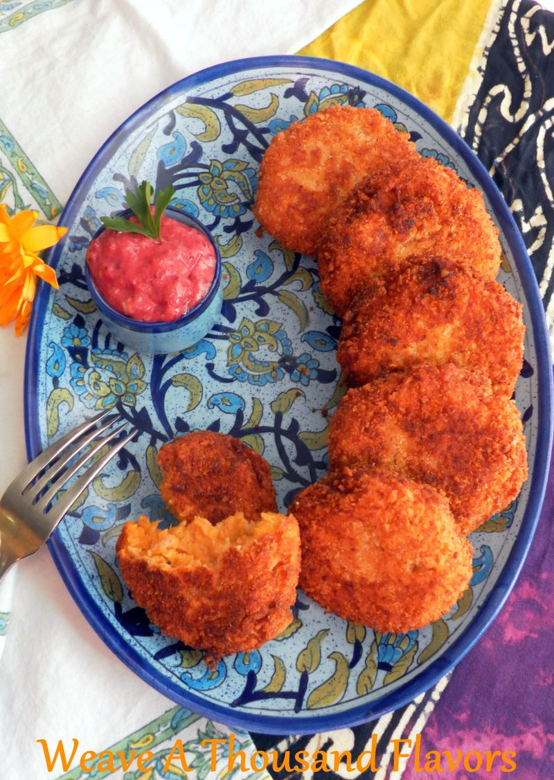 Candies Yam & Turkey Patties -01