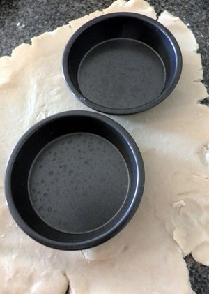 Banoffee pie -pastry dough2