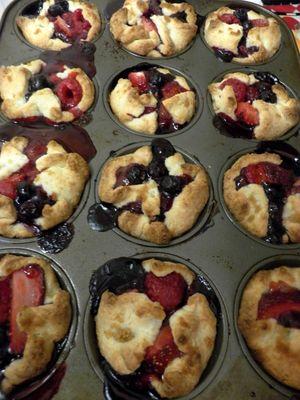 Berryful Parcels -Bake berryful parcels