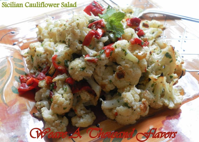 Sicilian cauliflower salad- 01