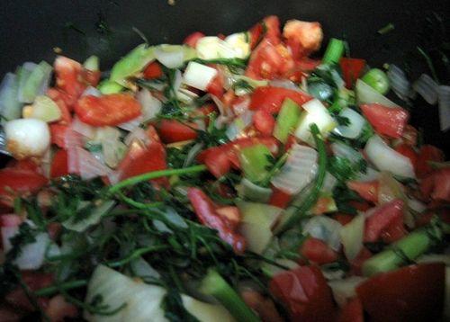 Soupe de poisson - Bouillabaisse - Add tomatoes etc