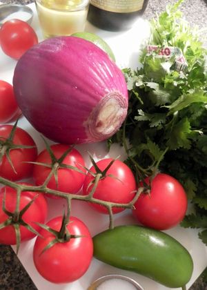 Pico De Gallo - Ingredients