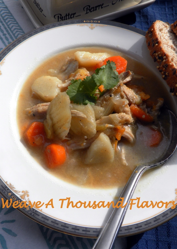 Leftover Chicken, Fennel & Sweet Potato Soup - 03