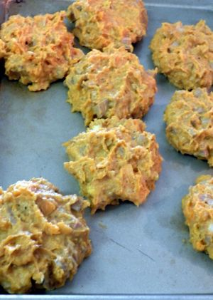 Candies Yam & Turkey Patties - Form patties
