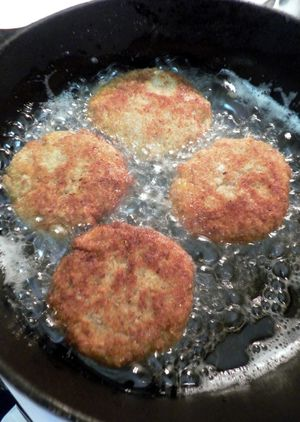 Candies Yam & Turkey Patties - Till a lovely golden brown