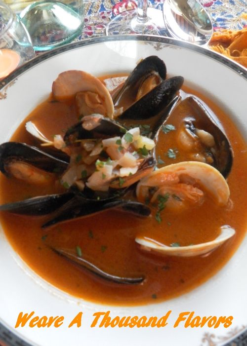 Tuscan Clam & Mussel Soup -03