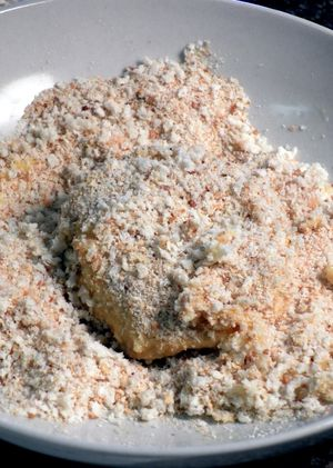 Candies Yam & Turkey Patties - Last the crumbs