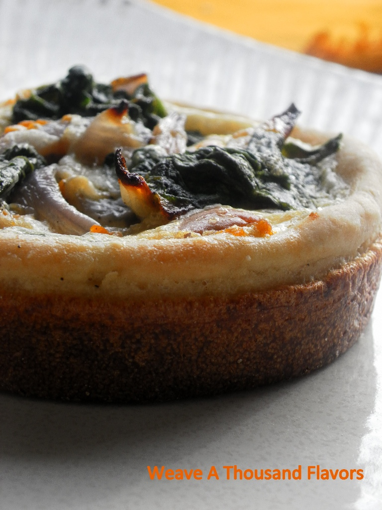 Butternut Squash & Spinach pie - 02