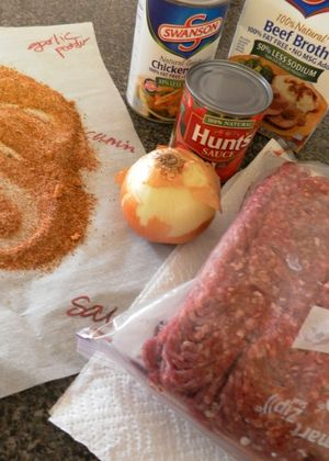 Terlingua Red Chili-Ingredients