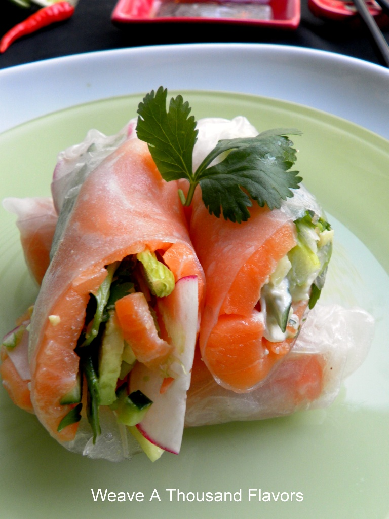 Spicy Salmon Summer Rolls-03