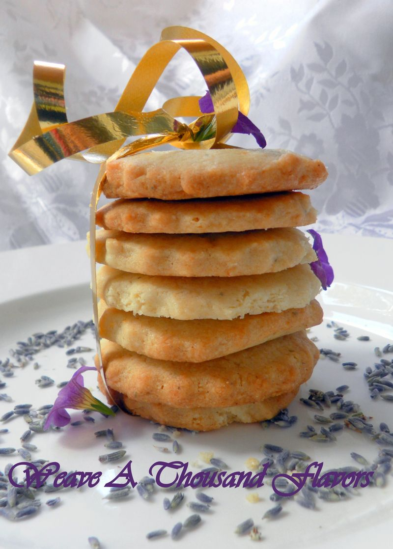 Lemon lavendar short breads - 01