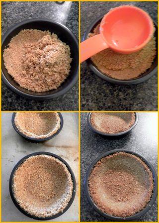 Karmel Sutra Tartlets - Baked Crust collage