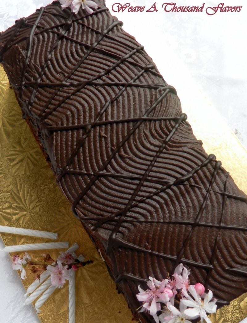 Chocolate Hazelnut Pave Cake - 04