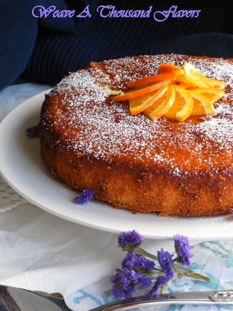 Orange & Polenta Cake -01