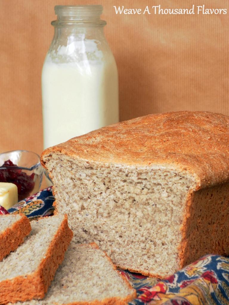 Crunchy Corn, Semolina & Sesame Loaf -04a