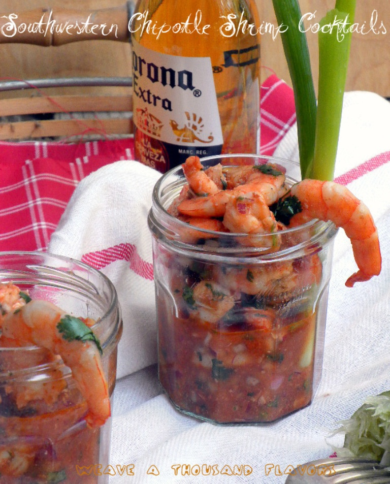 Chipotle Shrimp Cocktails